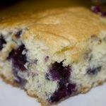 Blueberry Butter Cake